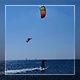 Kite Surfers And Calm Sea - VideoHive Item for Sale