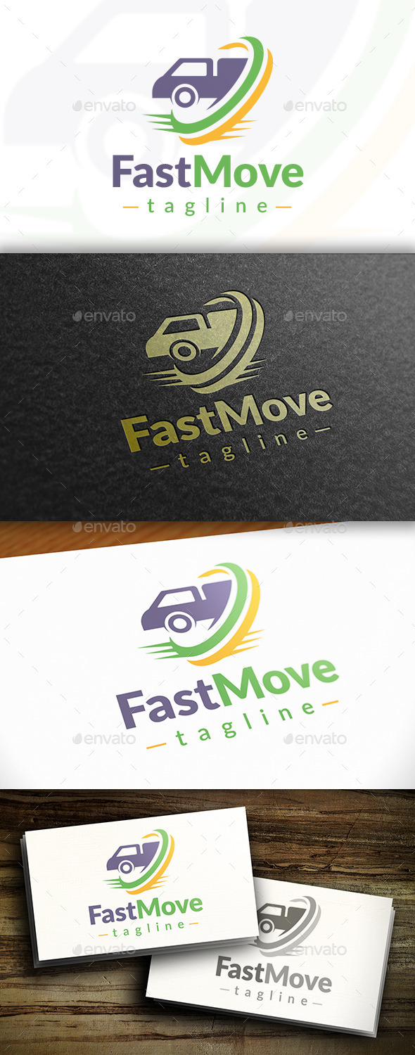 GraphicRiver Transport Logo Template 11111702