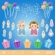 Baby Birthday Kit - GraphicRiver Item for Sale