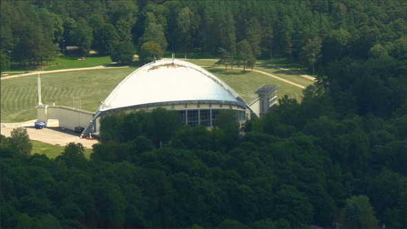 VideoHive A Dome-Like Song Stage in Vilnius Lithuania 10998598