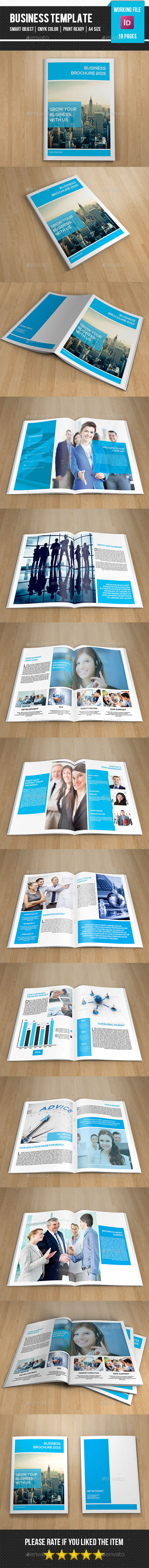 GraphicRiver Corporate Brochure Template-V237 11112044