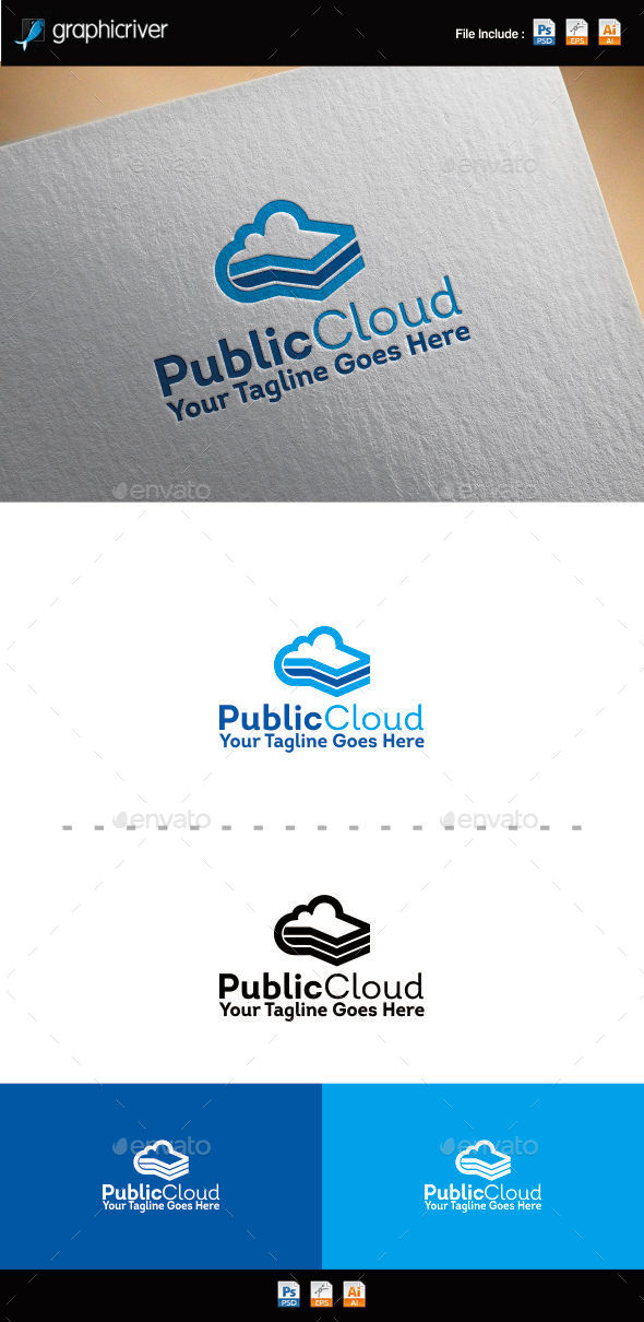GraphicRiver Public Cloud Logo 11112206