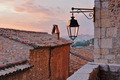 Old street lamp in the medieval town - PhotoDune Item for Sale