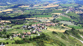Panoramic view of the field in Tuscany - PhotoDune Item for Sale