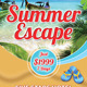 Travel Summer Vacation Rollup Banner 45 - GraphicRiver Item for Sale