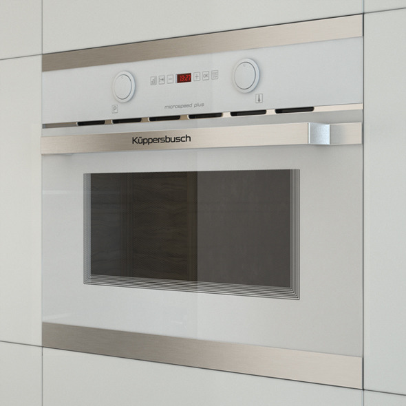 3DOcean Kuppersbusch EMWK 6260 Microwave 11112515