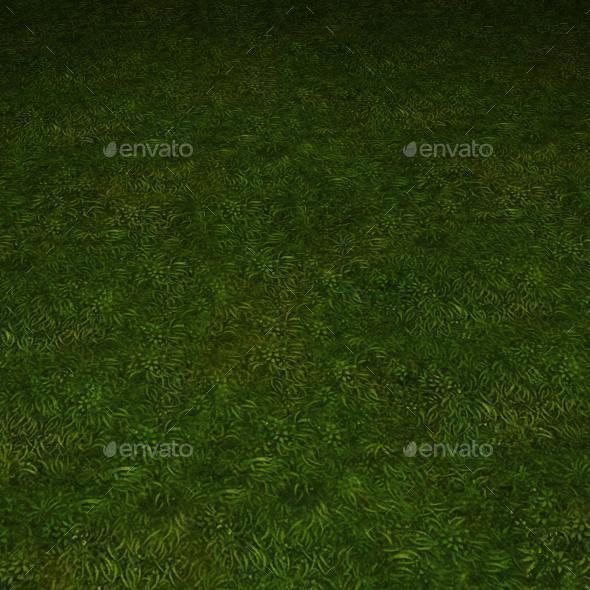 3DOcean ground grass tile 30 11112514