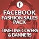Facebook Pack - Fashion Sales - GraphicRiver Item for Sale