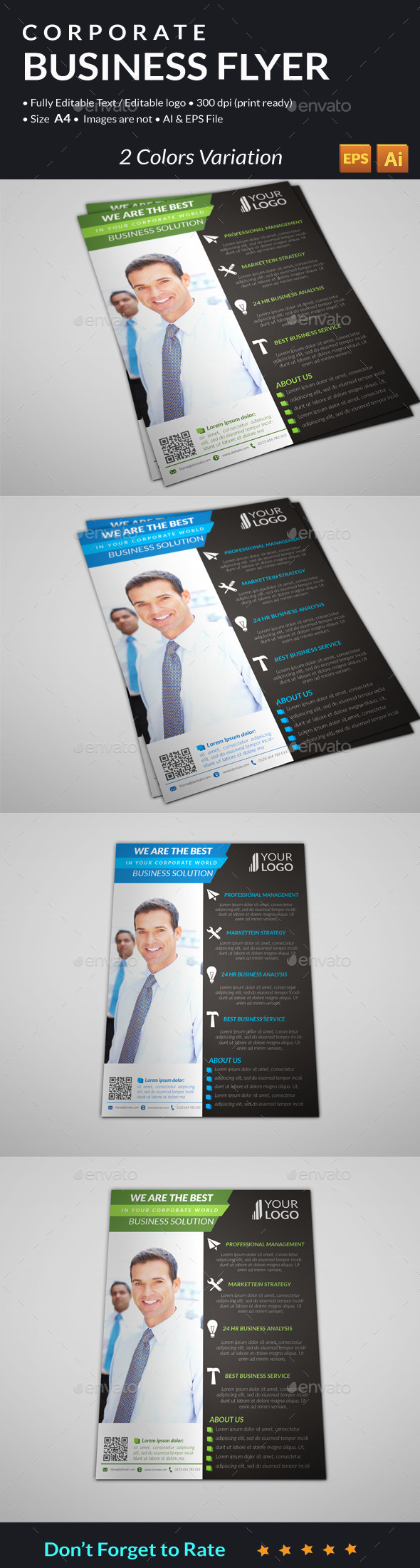 GraphicRiver Corporate Business Flyer 11112809