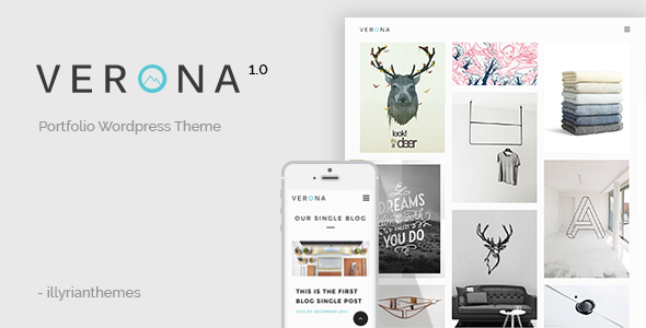 ThemeForest Verona WordPress Portfolio Template 10726707