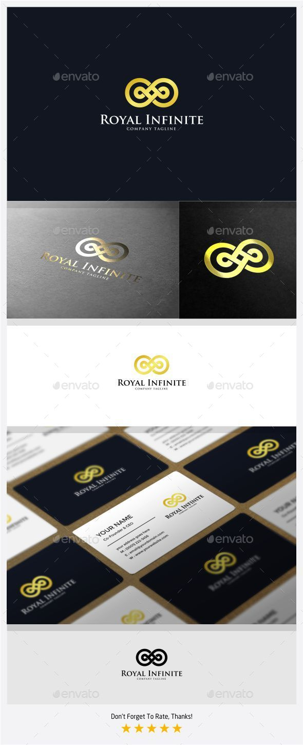 GraphicRiver Royal Infinite Logo 11113135