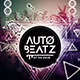 Auto Beatz Party Template - GraphicRiver Item for Sale