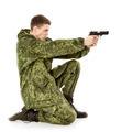 Military Man Shoots - PhotoDune Item for Sale
