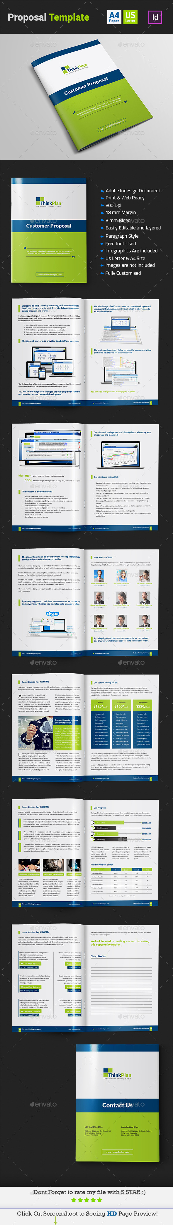 GraphicRiver Proposal Template Indesign Layout 11114374