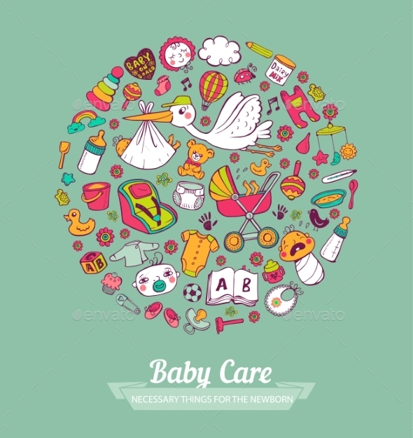 GraphicRiver Baby Care 11114456