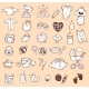 Infant Icon Set  - GraphicRiver Item for Sale