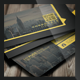Flat Corporate Delight Business Card - GraphicRiver Item for Sale