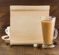 coffee concept on wood - PhotoDune Item for Sale