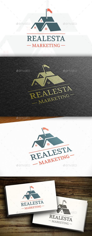 GraphicRiver Real Estate Seller Logo 11114864