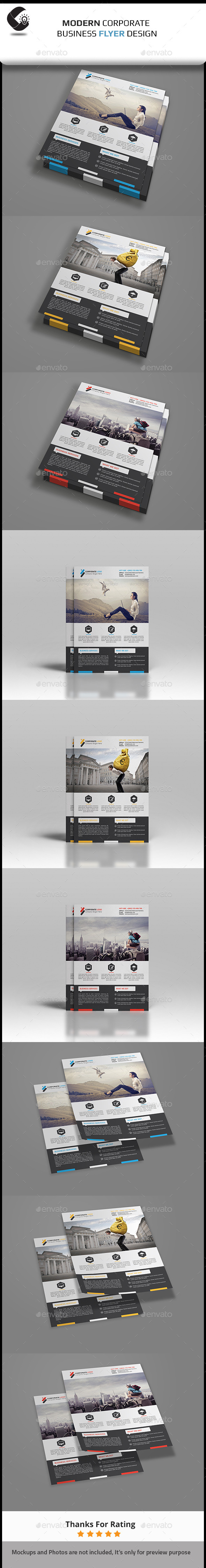 GraphicRiver Creative Corporate Flyer 11114978