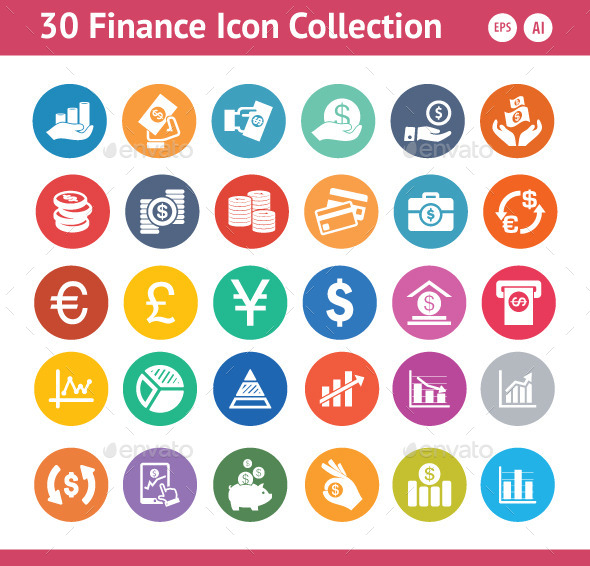 GraphicRiver Finance Icons 11115188