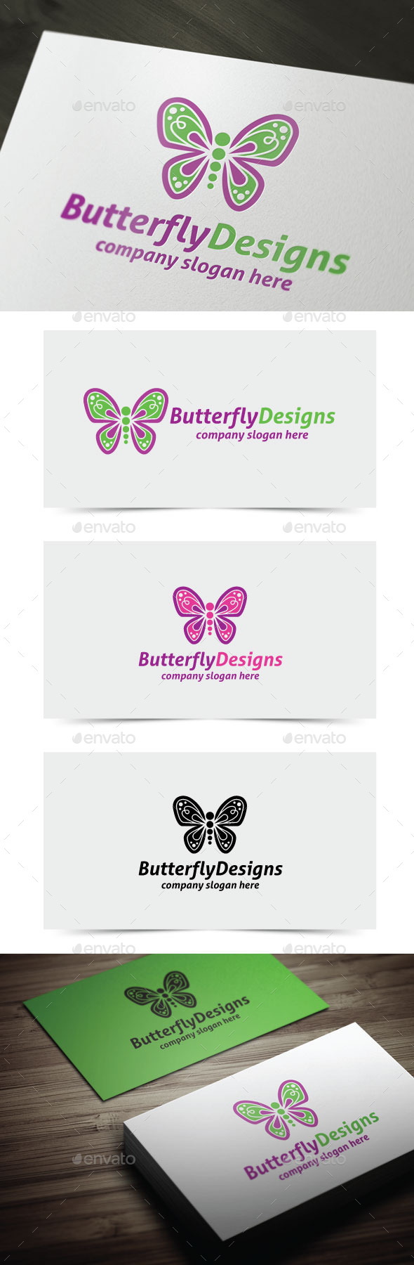 GraphicRiver Butterfly Designs 11115203