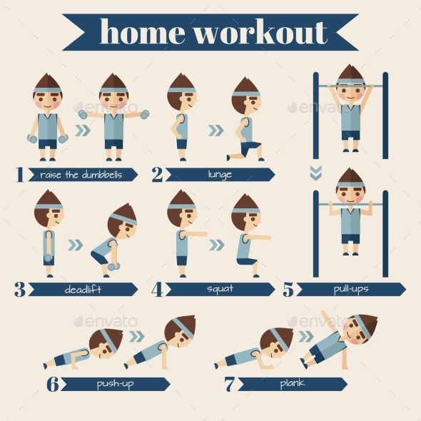 GraphicRiver Sport and Fitness Infographics 11116821