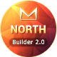 North Responsive Email + Template Builder - ThemeForest Item for Sale