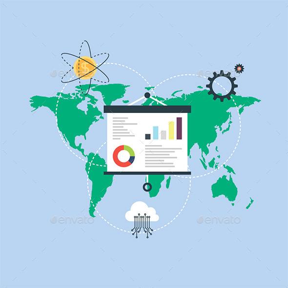 GraphicRiver Global Marketing 11118199