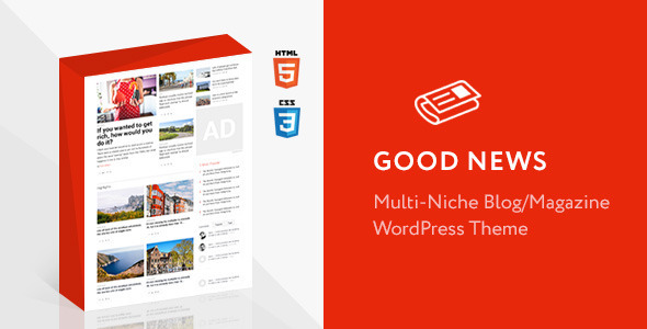 Good News - Multi Niche Blog / Magazine WordPress Theme