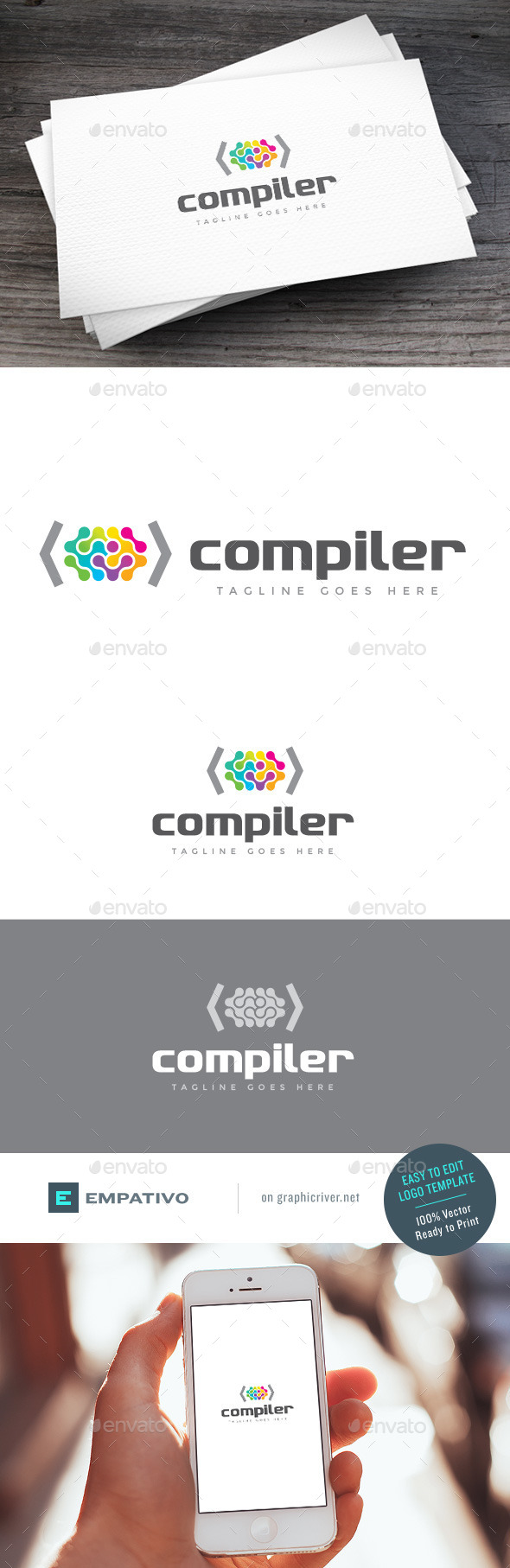GraphicRiver Compiler Logo Template 11119004