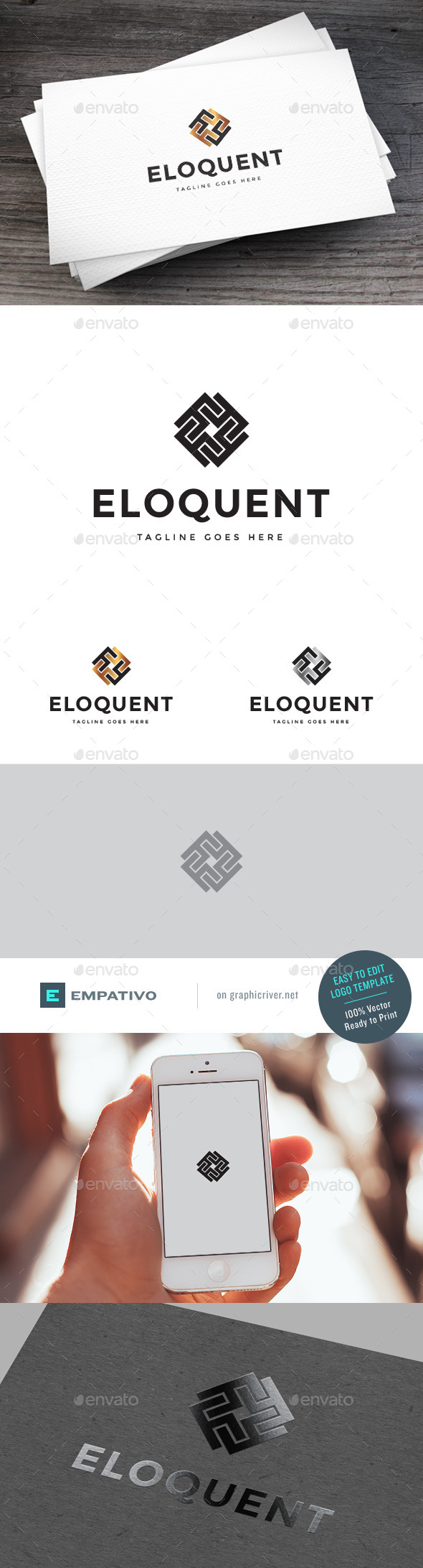 GraphicRiver Eloquent Logo Template 11119018
