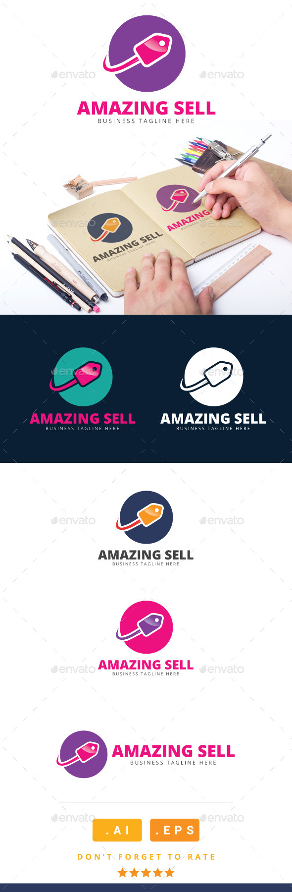 GraphicRiver Amazing Sell Logo 11119211