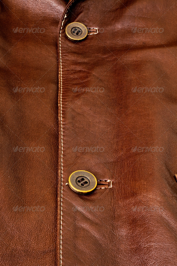 Detail of leather clothing - Stock Photo - Images