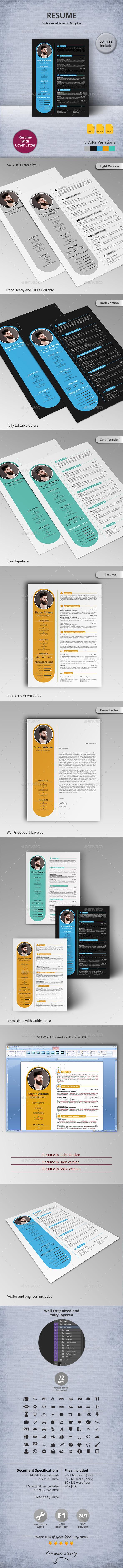 GraphicRiver Resume 11119597