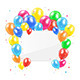 Balloons and Card - GraphicRiver Item for Sale