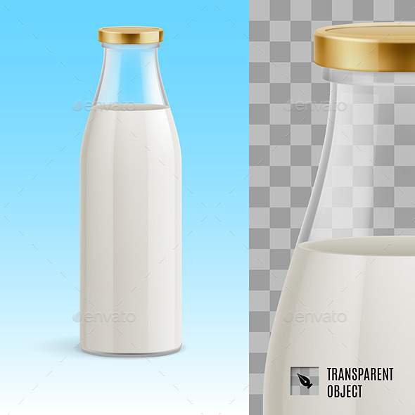 GraphicRiver Milk Bottle 11120897