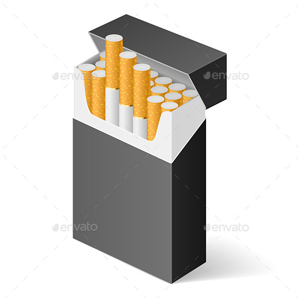 GraphicRiver Pack of Cigarettes 11121017