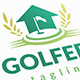 Golf House Logo - GraphicRiver Item for Sale