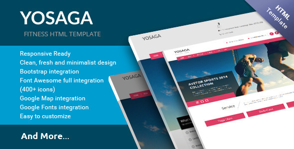 ThemeForest Yosaga HTML Template 11122119