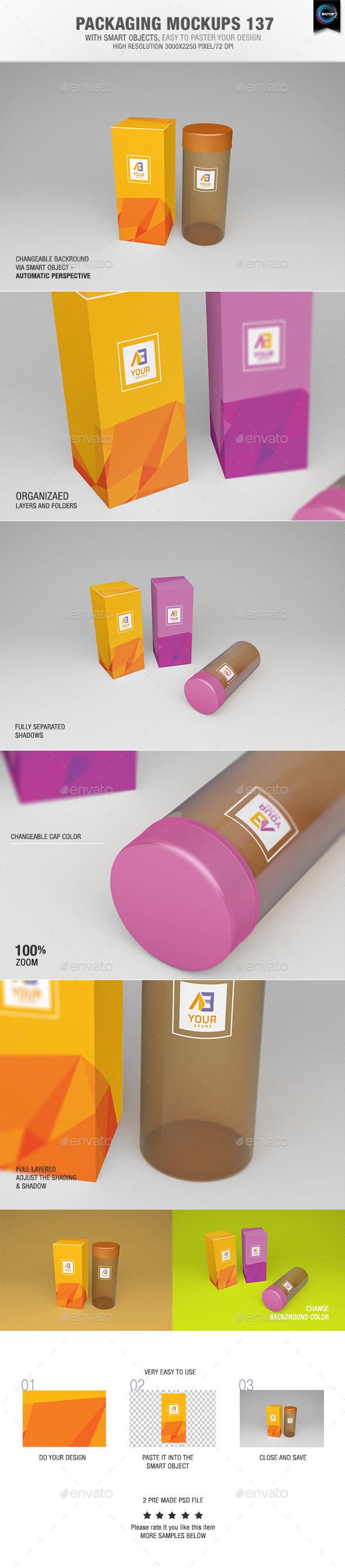 Packaging Mock-ups 137