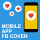 Facebook Cover for Mobile App - Set 01 - GraphicRiver Item for Sale