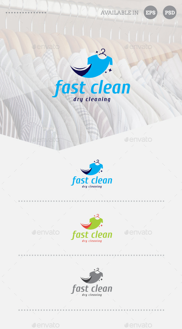 GraphicRiver Fast Clean Logo Template 11122733