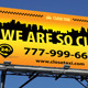 Taxi Cab Service Outdoor Banner 53 - GraphicRiver Item for Sale