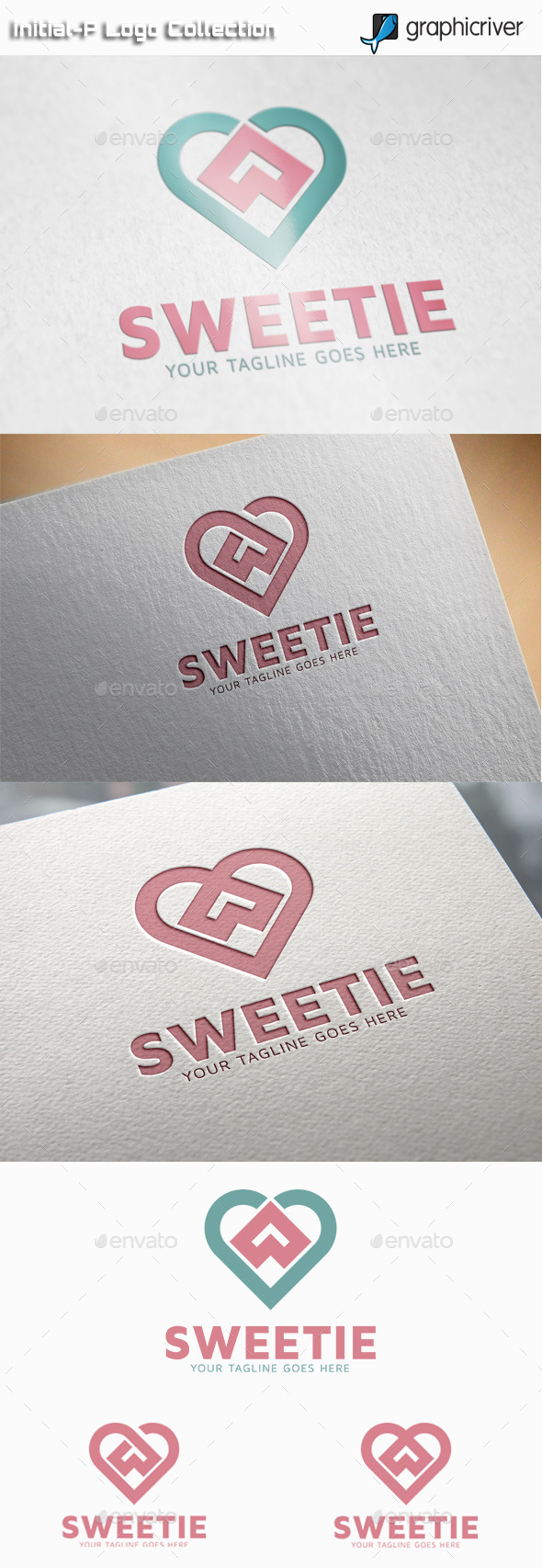 GraphicRiver Sweetie Sweet Heart Logo 11122813