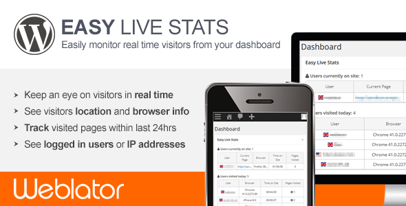 CodeCanyon Easy Live Stats 11122858