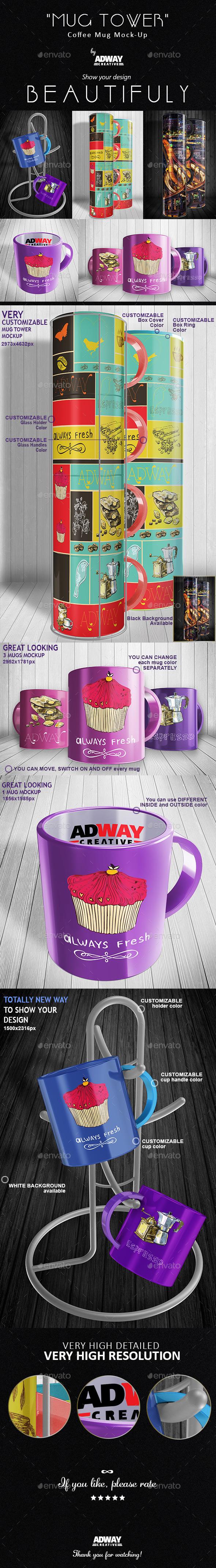 GraphicRiver Mug Mockup 11079730