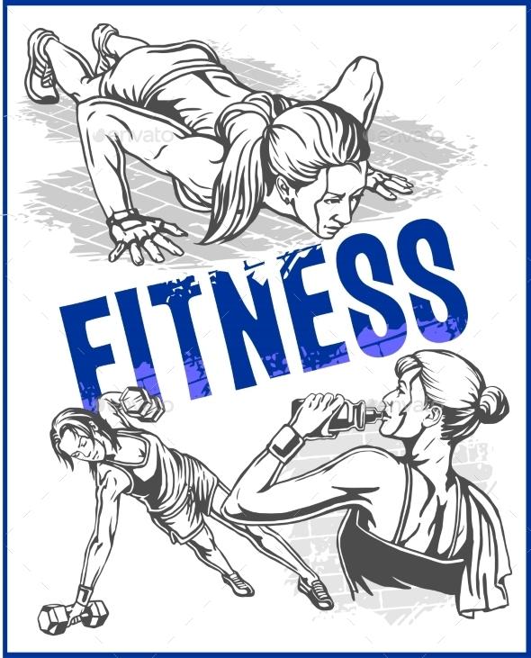 GraphicRiver Fitness Gym 11122924