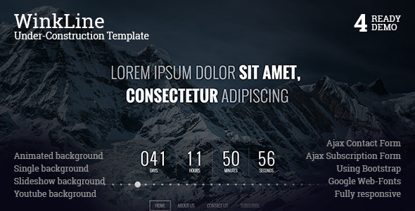 ThemeForest WinkLine Under-Construction Template 11123074