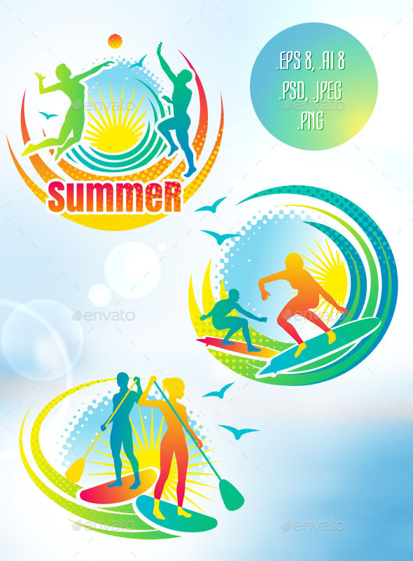 GraphicRiver Summer Sports 11123227